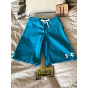 UNDER ARMOUR Boy/'s HYDRO Armour STORM Board Short Size 24 or 26,NWT